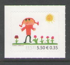 Estonia Sc 647 2010 5.5k Childrens Day stamp mint NH
