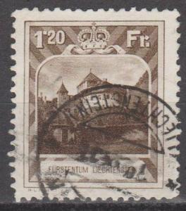 Liechtenstein #105 F-VF Used  CV $375.00 (B12542)