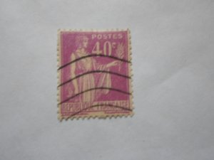 FRANCE STAMP USED VG CON. SC# 265