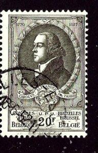 Belgium 445 Used 1952 issue    (ap3733)
