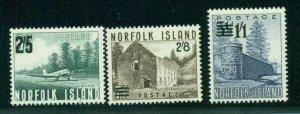 NORFOLK ISLAND #26-8, Mint Never Hinged, Scott $16.75