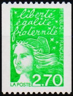 France.1997 2f70(Coil) S.G.3420 Unmounted Mint