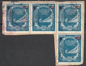 #868 Romania Used strip