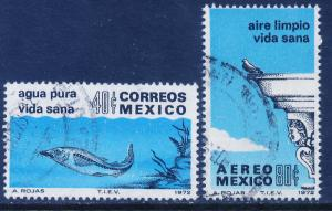 MEXICO 1049, C412 Anti-Pollution Campaign Used. (270)