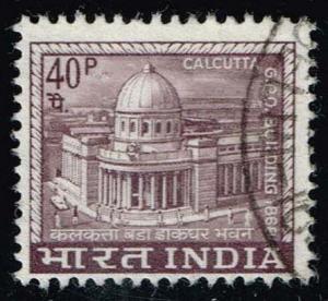 India #415 Calcutta Post Office; Used (0.25)