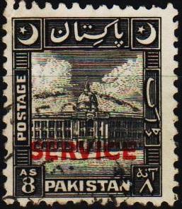 Pakistan. 1949 8a S.G.O31 Fine Used