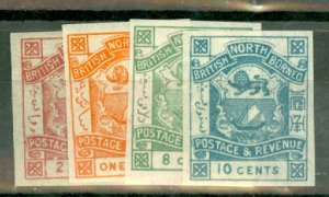 B: North Borneo 35-43 MNH CV $180; scan shows only a few