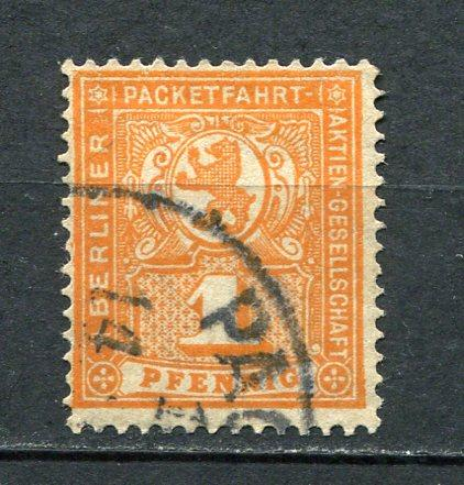 Germany 1894-5 Mi 53 Used Local Private Berlin  3701