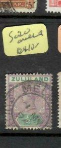 ZULULAND  (P2305B)  QV  1/2D  SG 20  MELMOUTH  CDS   VFU