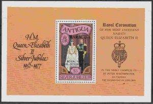 Barbuda #317 F-VF Mint NH ** Royal Visit