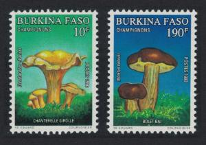Burkina Faso Fungi Mushrooms 2v SG#993+996