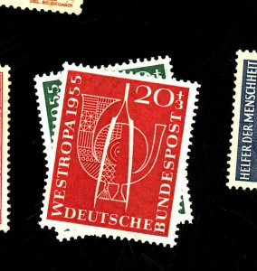 Germany #B342-3 MINT F-VF OG LH Cat$12
