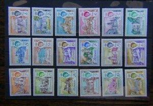 Bermuda 1962 - 1968 set to £1 MM SG163 - SG179