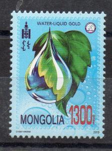 MONGOLIA - 2015 - WATER-LIQUID GOLD -