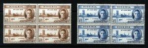 NIGERIA King George VI 1946 The Victory Set SG 60 & SG 61 MINT