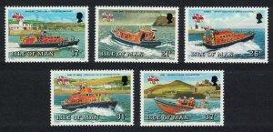 Isle of Man Manx Lifeboats 5v SG#469-473