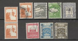 COLLECTION LOT # 3743 PALESTINE 9 STAMPS CLEARANCE 1918+ CV+$19