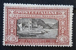 AlexStamps ITALY #165 VF Mint