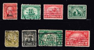 US STAMP 1920 -30 USED STAMPS COLLECTION LOT  #S1