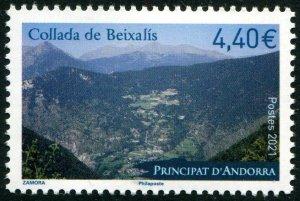 HERRICKSTAMP NEW ISSUES ANDORRA-FRENCH Collada de Beixalis