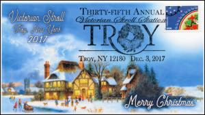 17-370, 2017, Christmas, Troy NY, Victorian Stroll, Pictorial, Event Cover,
