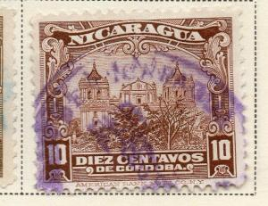 Nicaragua 1928 Early Issue Fine Used 10c. 323670