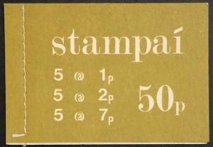 1971 Ireland stamp booklet