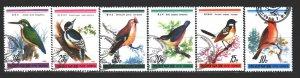 North Korea. 1988. 2932-37. Birds fauna. USED.
