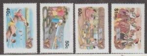 Tuvalu Scott #681-684 Stamps - Mint NH Set