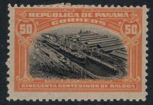 Panama #218* CV $30.00