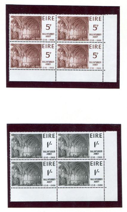 Ireland  #218-9   MNH     ** Free shipping ** Plate blocks of six