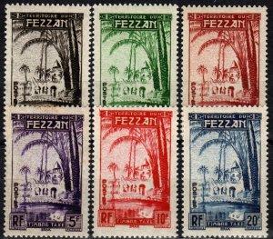Libya #2NJ1-6  MNH CV $17.50 (X1117)