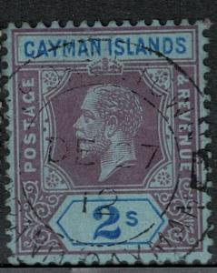 Cayman Islands 1912 SC 41 Used SVC$ 65.00
