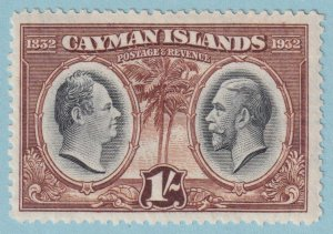 CAYMAN ISLANDS 77 MINT  HINGED OG *  NO FAULTS EXTRA FINE!