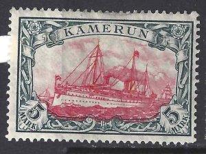 Cameroun 1900 SC 25 Mint SCV$ 50.00