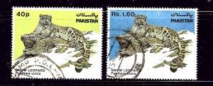Pakistan 603-04 Used 1984 Snow Leopard