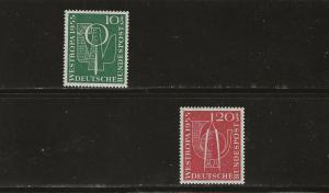 Germany B342-343  MNH