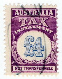 (I.B) Australia Revenue : Tax Instalment £4