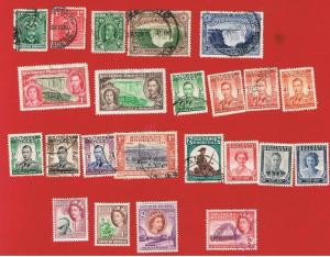 Southern Rhodesia #1//90  MVFLH & VF used  Various Stamps  Free S/H