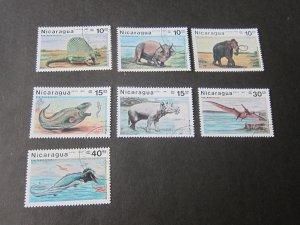 Nicaragua 1987 Sc 1617-23 set FU