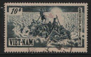 VIETNAM, 32, USED, 1955 Refugees on raft
