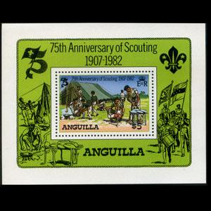 ANGUILLA 1982 - Scott# 506 S/S Scouting Year NH