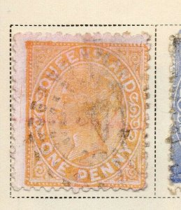 Queensland 1882-83 Early Issue Fine Used 1d. 326876