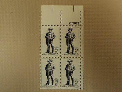 USPS Scott 1242 5c 1964 Sam Houston Plate Block 4 Stamps ...