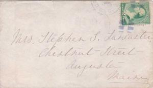 United States Wyoming Green River City 1889 blue segmented cork  1868-1887  2...