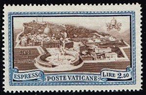 ITALY VATICAN CITY STAMP #E4 1933 Express Stamp  MH/OG STAMP