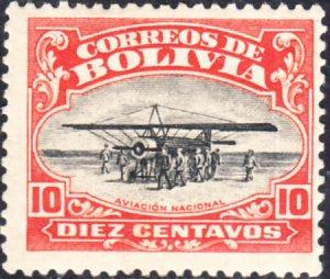 Bolivia  #C1    MH