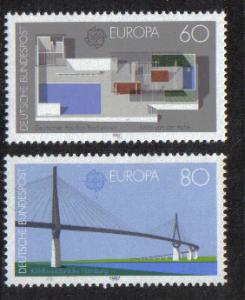 Germany  1987  MNH  Europa complete
