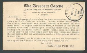 1906 Chicago IL The Breeders Gazette Weekly Stock Farm Journal