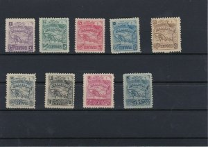 Nicaragua Early Mounted Unused Stamps Ref: R4223